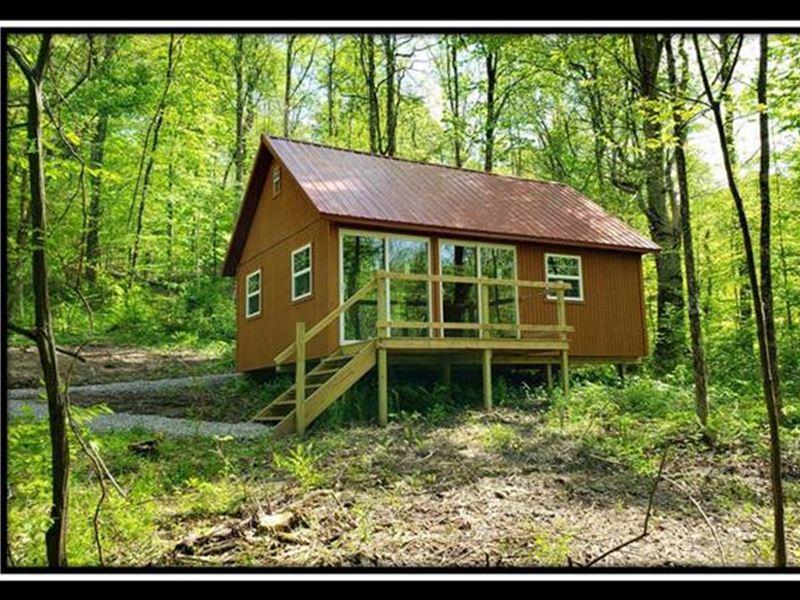 Creek View Cabin : Chandlersville : Muskingum County : Ohio