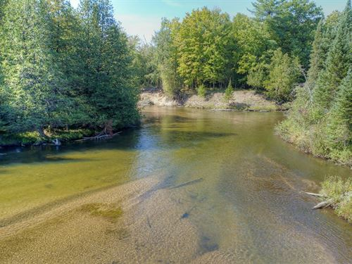 Pristine 1465 Acres With Log Cabins : Fife Lake : Kalkaska County : Michigan