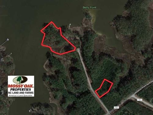 4.38 Acre Waterfront Lot For Sale : Aurora : Beaufort County : North Carolina