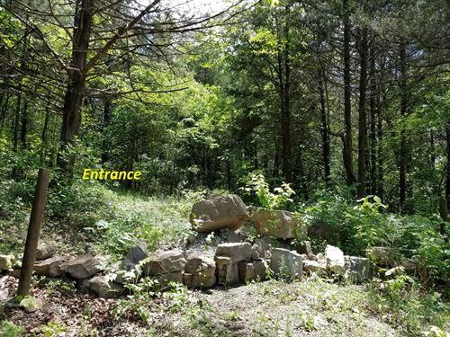 Land Overlooking White Rive Cotter : Cotter : Baxter County : Arkansas