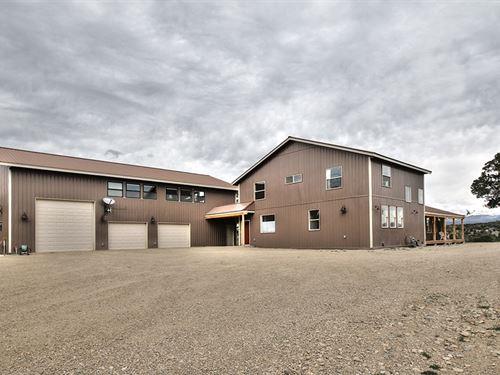 Home Near Mesa Verde : Mancos : Montezuma County : Colorado