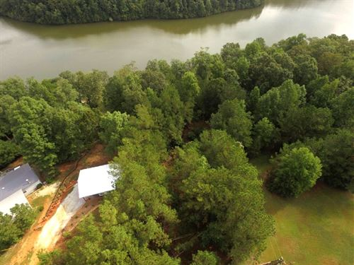 Lake Wedowee Water Front Lot : Lineville : Randolph County : Alabama