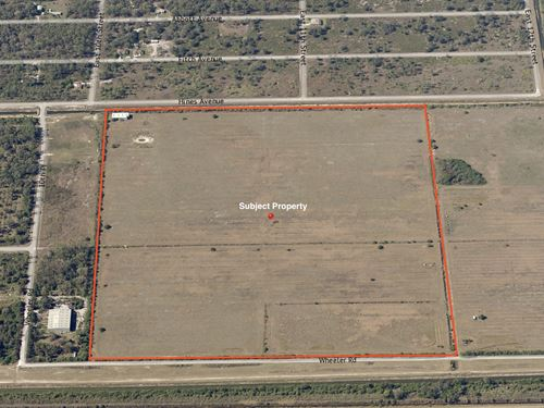 +/-104 Acres Agricultural Land : Labelle : Hendry County : Florida