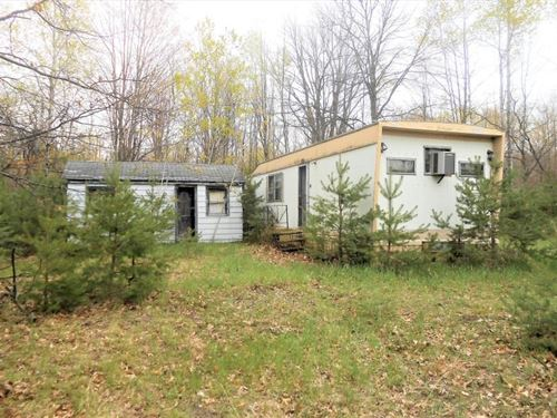 Residential Lot, Mobile/Cabin : Atlanta : Montmorency County : Michigan