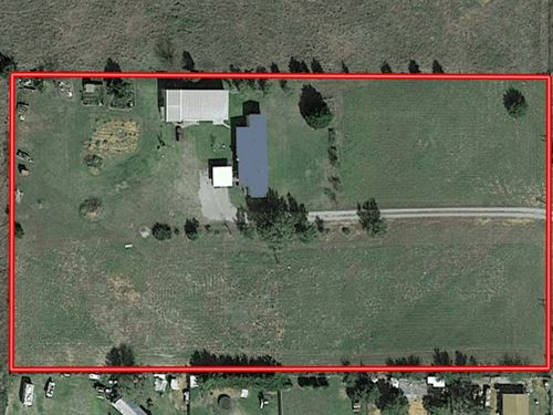 Country Home Acreage Clinton OK : Clinton : Custer County : Oklahoma