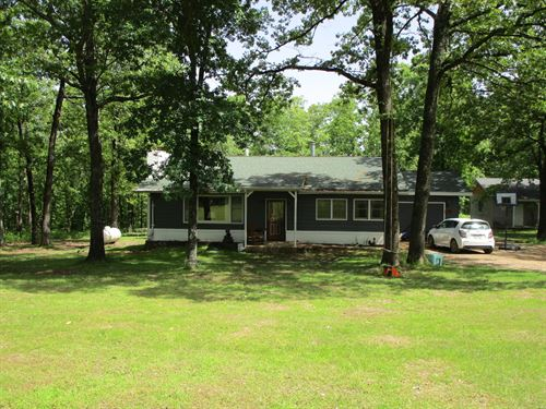 Home With Acreage For Sale : Mountain View : Texas County : Missouri