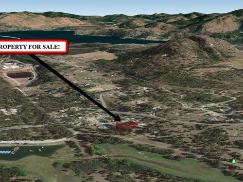 .45-Acre Paradise Close To A River : Kettle Falls : Stevens County : Washington