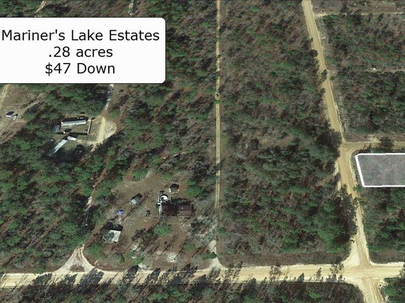 .28 Acre Corner Lot R2 Zoning : Interlachen : Putnam County : Florida