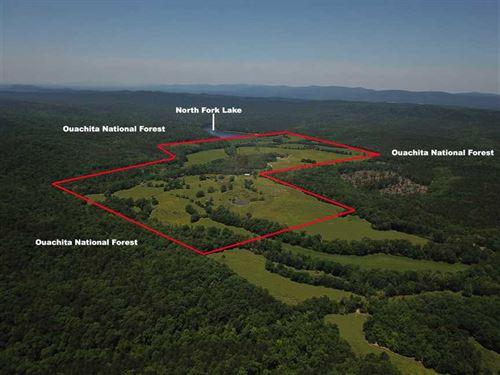 Price Drop 261 Acres in MO : Mount Ida : Montgomery County : Arkansas