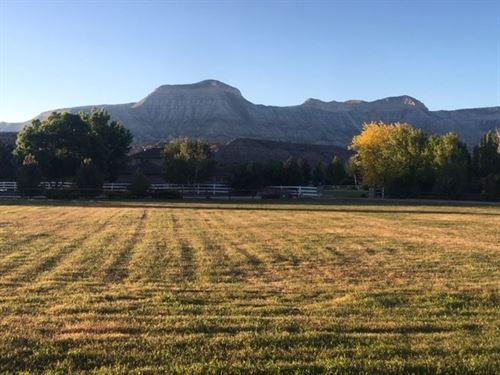 Building Site Land Debeque Colorado : De Beque : Mesa County : Colorado
