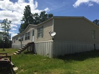 Mobile Home 4 Acres Amite County : Liberty : Amite County : Mississippi