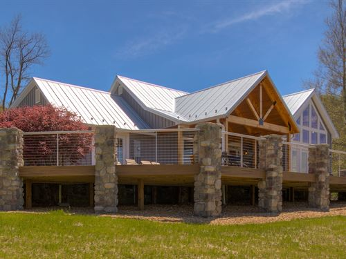 Lodge Home Elk Creek Virginia : Elk Creek : Grayson County : Virginia