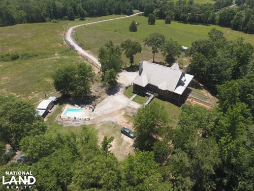 Walker Branch Custom Home & Farm : Montevallo : Chilton County : Alabama