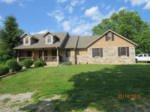 Custom Home on Acreage, Ava MO : Ava : Douglas County : Missouri