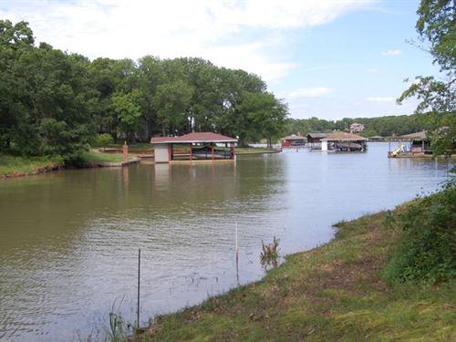 Richland Chambers Lake Lot For Sale : Streetman : Freestone County : Texas
