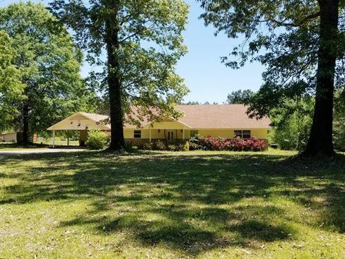 Golf Course Home in Bernice LA : Bernice : Union Parish : Louisiana