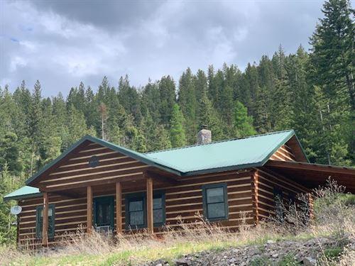 Baldy Mountain Cabin : Plains : Sanders County : Montana
