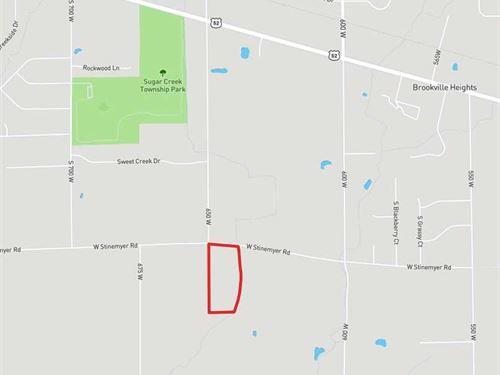Lot 1, Hancock County, In, W St : New Palestine : Hancock County : Indiana