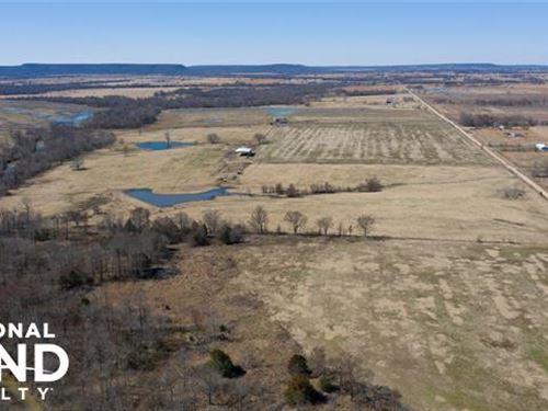 Turnkey Farm & Ranch : Porum : Muskogee County : Oklahoma