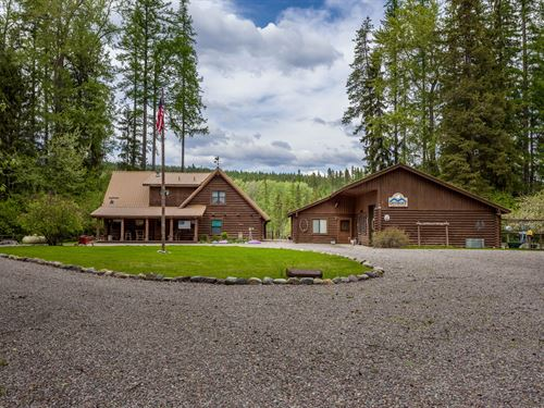 Swan River Outpost : Bigfork : Flathead County : Montana