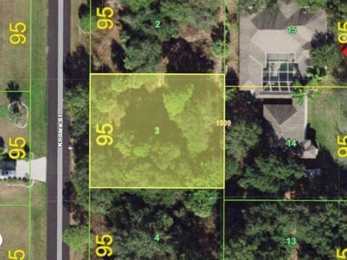 Perfect Location to Build Your Drea : Port Charlotte : Charlotte County : Florida