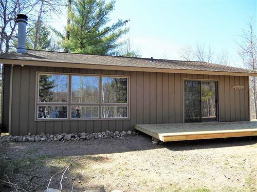 Mls 177974, Heiress Lake Cabin : Cassian : Oneida County : Wisconsin