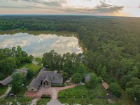 Woodland Chateau 101 Acres : Trinity : Texas