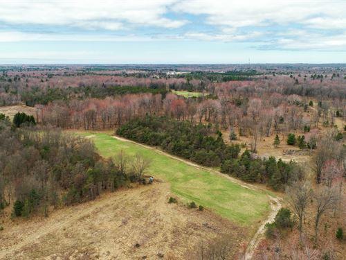 Diverse, Huntable, Farmable 150 : Free Soil : Mason County : Michigan