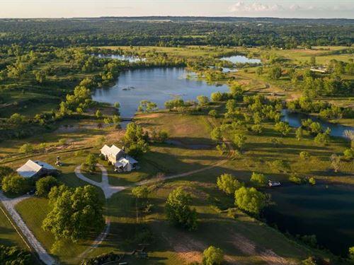 Brazos River Ranch : Brazos Point : Bosque County : Texas