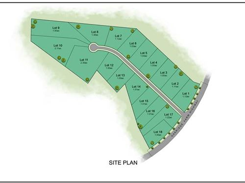 1.01 Acre Lot in Mooresville : Mooresville : Iredell County : North Carolina