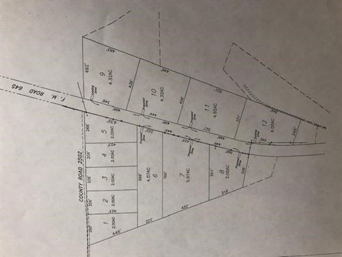 Home Site Tracts Land Tennessee : Tennessee Colony : Anderson County : Texas
