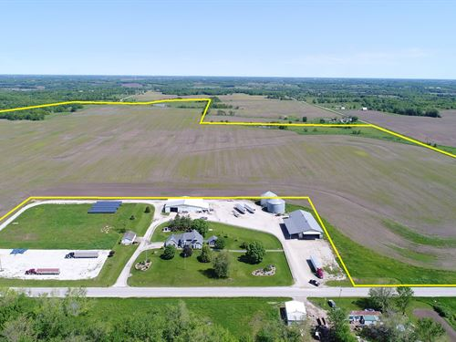 Northern Mo Cropland For Sale : Memphis : Scotland County : Missouri