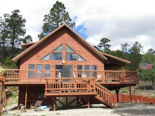 Chama NM Cabin Heron Lake Brazos : Los Ojos : Rio Arriba County : New Mexico