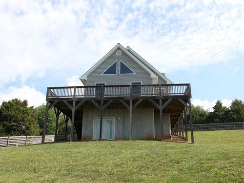 Cozy A Frame Home With Lake Views : Abingdon : Washington County : Virginia