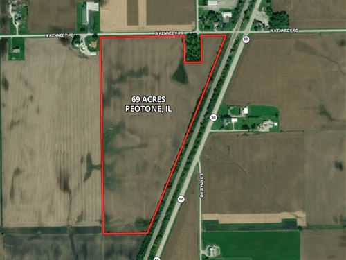 69 Acres Peotone Farm : Peotone : Will County : Illinois