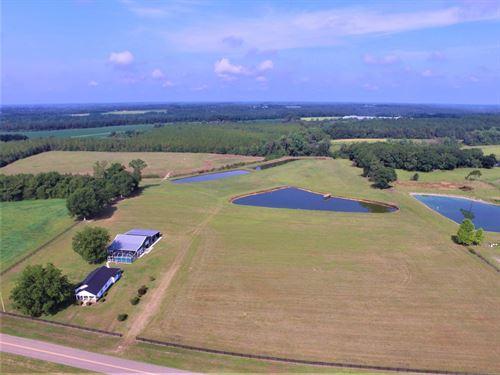 Farm, Home, Barn, Ponds, Pasture : Kinston : Coffee County : Alabama
