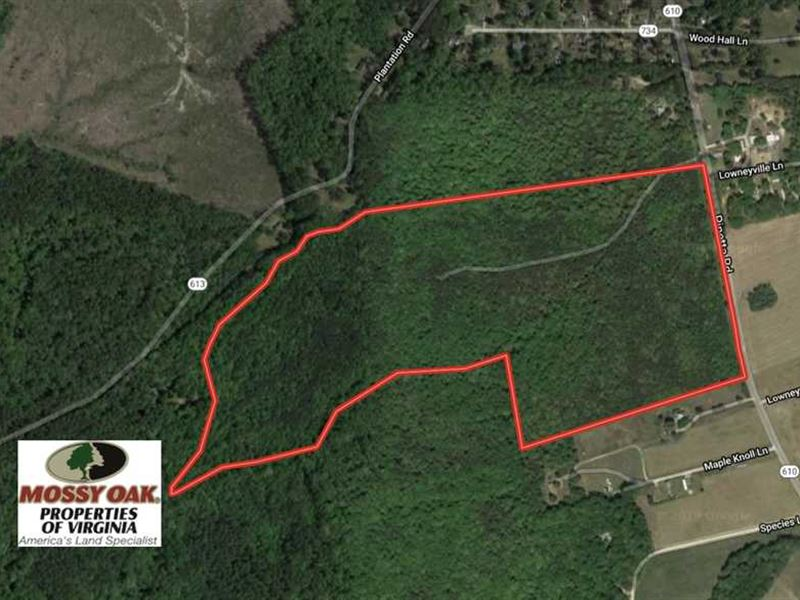 Under Contract, 91 Acres of Undev : Gloucester : Gloucester County : Virginia