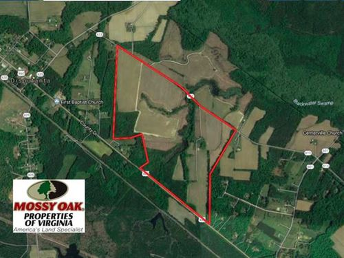 Under Contract, 276 Acres of Farm : Disputanta : Prince George County : Virginia