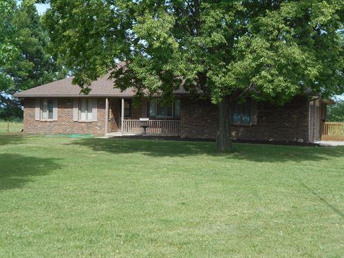 Cameron MO 73 Acres And Brick Home : Cameron : Clinton County : Missouri