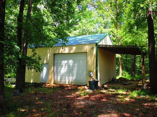 Great 10 Acre Parcel, Metal Garage : Doniphan : Ripley County : Missouri
