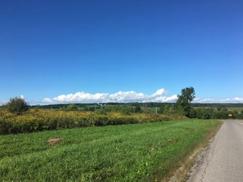 Abandoned Farmland Scenic Views : Canajoharie : Montgomery County : New York