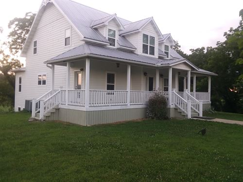 Newer Country Home In The Ozarks : Summersville : Texas County : Missouri