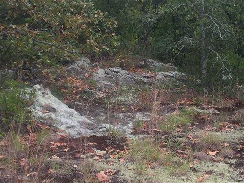 Beautiful Creek Land With Large Ha : Rose Bud : White County : Arkansas
