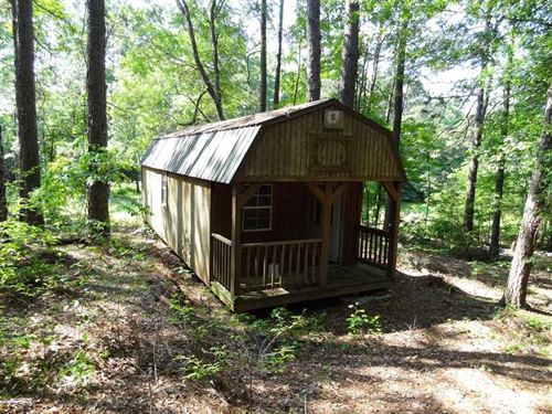 29.7 Acres, / Portable Building : Ironton : Pulaski County : Arkansas