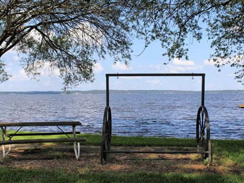 Double Waterfront Lots Lake : Chandler : Henderson County : Texas