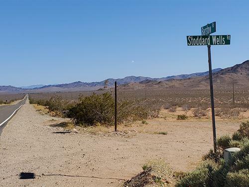 Scenic Parcel Off Hwy 247, $245/Mo : Barstow : San Bernardino County : California