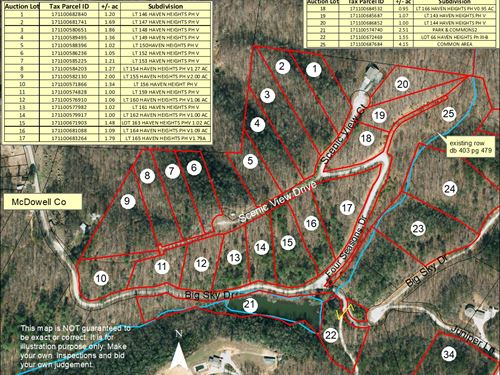 185+/- Acre Subdivision-Marion,Nc : Marion : McDowell County : North Carolina