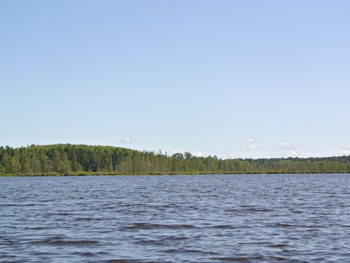 178327, 44 Ac On Amik Lake : Lac Du Flambeau : Vilas County : Wisconsin