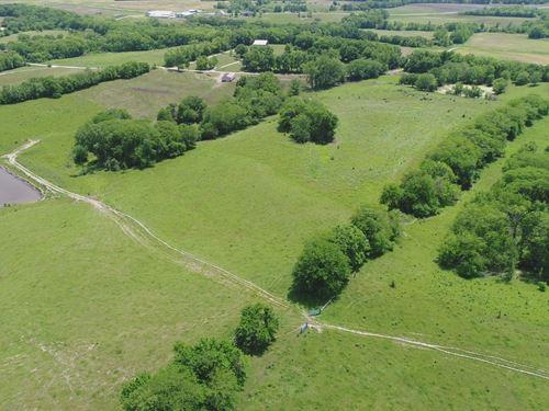 Cattle Farm Set-Up 133 Acres, Water : Weatherby : Dekalb County : Missouri