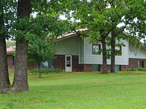Hobby Ranch & Home, Private Fishing : Carney : Lincoln County : Oklahoma
